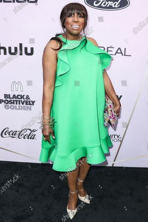 Mikki Taylor arrives at the 2020 13th Annual ESSENCE Black Women in Hollywood Awards Luncheon held at the Beverly Wilshire, A Four Seasons Hotel on February 6, 2020 in Beverly Hills, Los Angeles, California, United States.