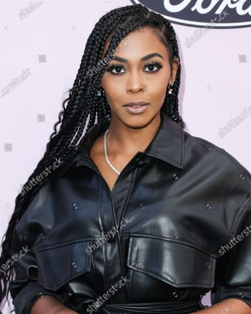 Nafessa Williams arrives at the 2020 13th Annual ESSENCE Black Women in Hollywood Awards Luncheon held at the Beverly Wilshire, A Four Seasons Hotel on February 6, 2020 in Beverly Hills, Los Angeles, California, United States.