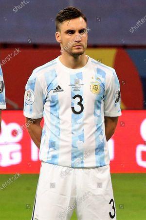 Nicolas Tagliafico of Argentina