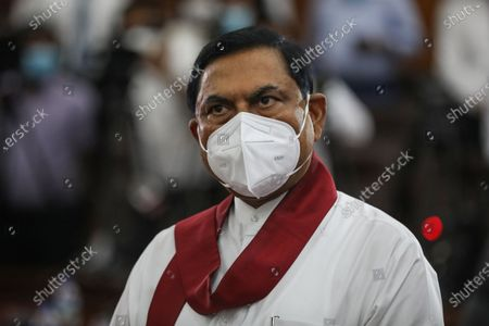 Editorial photo of Basil Rajapaksa sworn in as the new finance minister in Sri Lanka, Kandy - 08 Jul 2021
