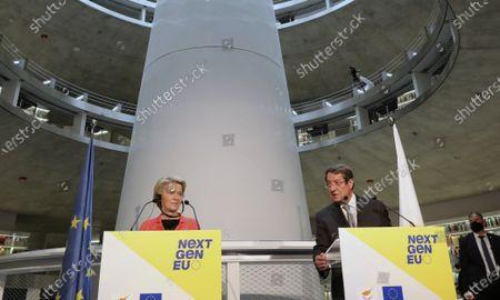 Editorial image of EU, Nicosia, Cyprus - 08 Jul 2021