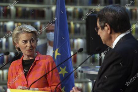 Editorial picture of EU, Nicosia, Cyprus - 08 Jul 2021
