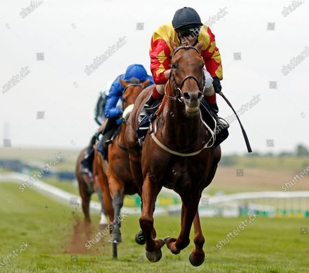 SIR RON PRIESTLEY (Franny Norton) wins The Princess Of Wales's Tattersalls Stakes Newmarket
