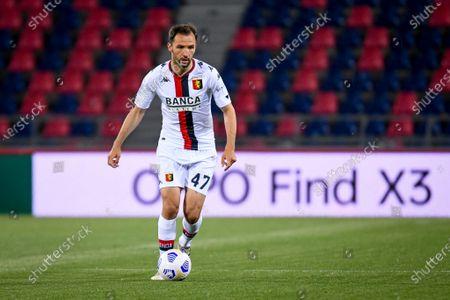 Milan Badelj (Genoa) in action portrait