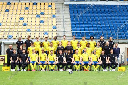 Editorial picture of Soccer Photoshoot D1b Waasland-Beveren, Beveren, Belgium - 08 Jul 2021