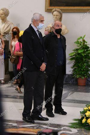 Stock Picture of Pier Ferdinando Casini, Sergio Japino