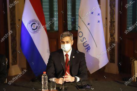 Editorial picture of Mercosur Summit, Asuncion, Paraguay - 08 Jul 2021