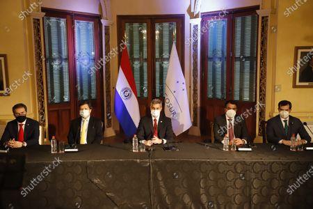 Editorial photo of Mercosur Summit, Asuncion, Paraguay - 08 Jul 2021