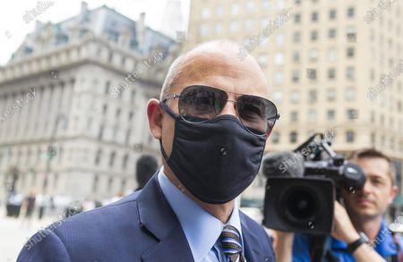 Editorial picture of Michael Avenatti Sentacing Hearing, New York, USA - 08 Jul 2021