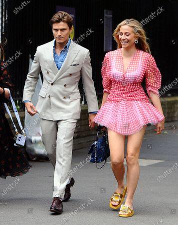 Editorial picture of Celebrities at Wimbledon, London, UK - 08 Jul 2021