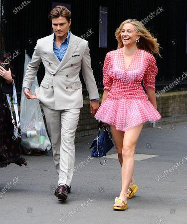 Editorial photo of Celebrities at Wimbledon, London, UK - 08 Jul 2021