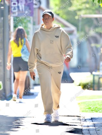 Cameron Hardy was spotted out in West Hollywood as he grabbed an iced coffee at Alfred's . The singer who just hit 1 Million streams of his debut single on Spotify looked cool in a beige sweatsuit from Local Love Club, an athleisure brand from Celebrity Stylist, Maeve Reilly