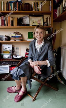 Editorial image of Susannah York at home in London, Britain - 27 Jul 2010