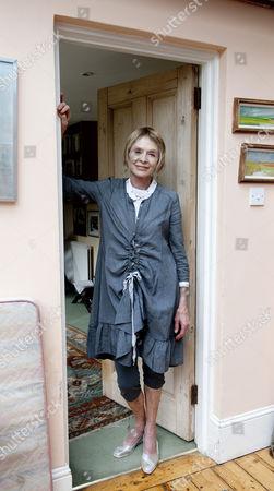Editorial photo of Susannah York at home in London, Britain - 27 Jul 2010