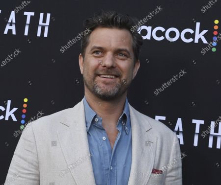 """Cast member Joshua Jackson attends the premiere of Peacock's new crime thriller series """"Dr. Death"""" at NeueHouse in Los Angeles on Thursday, July 8, 2021. Storyline: As patients entering the operating room of Dr. Christopher Duntsch for routine spinal surgeries start leaving permanently maimed or dead, two fellow surgeons and a young Assistant District Attorney set out to stop him."""