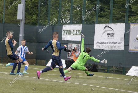 East Kilbride v Kilmarnock kilmarnock fraser Murray goal