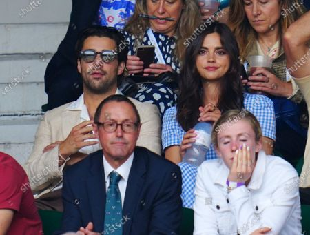 Editorial image of Wimbledon Tennis Championships, Day 11, The All England Lawn Tennis and Croquet Club, London, UK - 09 Jul 2021