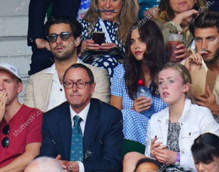Editorial picture of Wimbledon Tennis Championships, Day 11, The All England Lawn Tennis and Croquet Club, London, UK - 09 Jul 2021