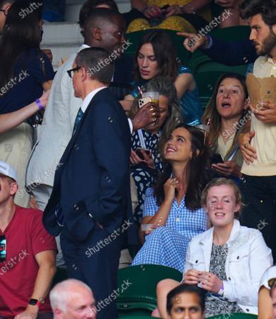 Editorial photo of Wimbledon Tennis Championships, Day 11, The All England Lawn Tennis and Croquet Club, London, UK - 09 Jul 2021