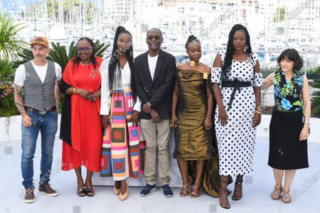Mathieu Giombini, Hadje Fatime Ngoua, Rihane Khalil Alio, Mahamat-Saleh Haroun, Achouackh Abakar Souleymane, Bria Gomdigue and Florence Stern