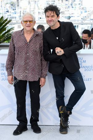 Stock Image of Jeremy Thomas and Mark Cousins