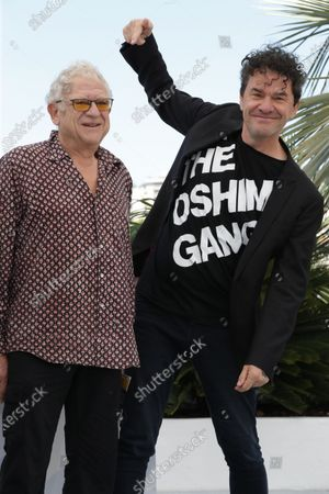 Jeremy Thomas and Mark Cousins