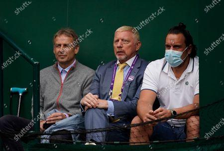Editorial photo of Wimbledon Tennis, London, United Kingdom - 09 Jul 2021