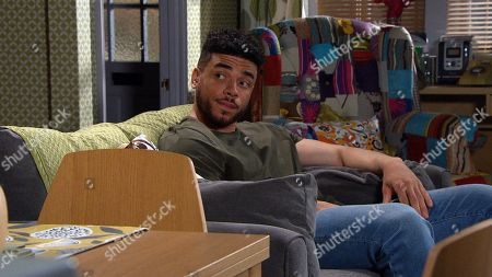 Emmerdale - Ep 9102 Friday 16th July 2021 An exhausted Tracy Metcalfe pours out her feelings of inadequacy to Nate Robinson, as played by Jurell Carter.
