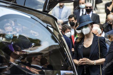 Editorial photo of Raffaella Carra's funeral ceremony in Rome, Italy - 09 Jul 2021