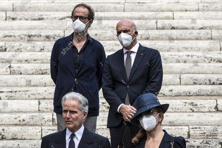 Editorial image of Raffaella Carra's funeral ceremony in Rome, Italy - 09 Jul 2021