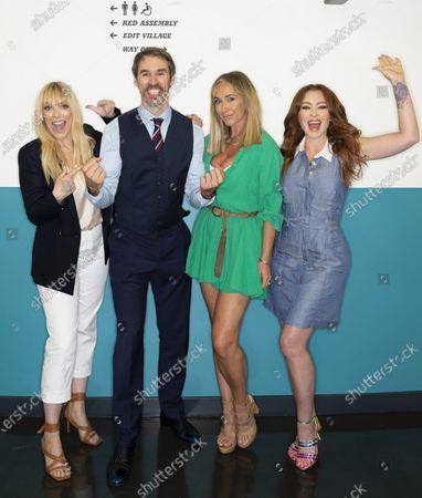 Stock Picture of Liz McClarnon, Natasha Hamilton, Jenny Frost and Neil Rowe