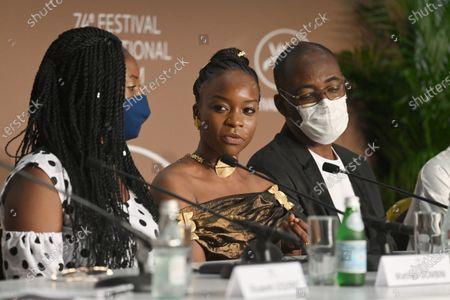 Editorial photo of Lingui Press Conference - 74th Cannes Film Festival, France - 09 Jul 2021