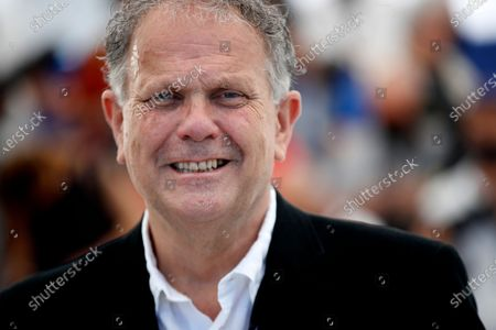 Stock Picture of Producer David P. Kelly poses during the photocall for 'The Storms Of Jeremy Irons' at the 74th annual Cannes Film Festival, in Cannes, France, 09 July 2021. The movie is presented in the Official Competition of the festival which runs from 06 to 17 July.