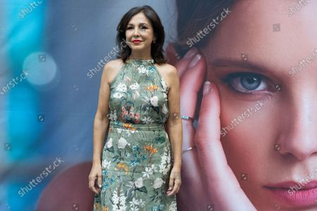 Isabel Gemio attends a photocall for inauguration of David Locco Atelier in Madrid.