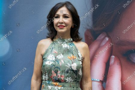Stock Photo of Isabel Gemio attends a photocall for inauguration of David Locco Atelier in Madrid.