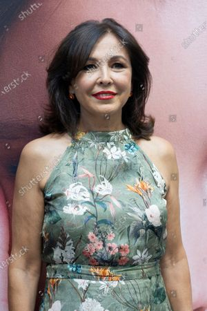 Stock Picture of Isabel Gemio attends a photocall for inauguration of David Locco Atelier in Madrid.
