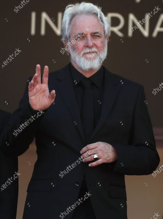 Ari Folman arrives for the screening of 'Where Is Anne Frank' during the 74th annual Cannes Film Festival, in Cannes, France, 09 July 2021. The movie is presented in Out of Competition at the festival which runs from 06 to 17 July.