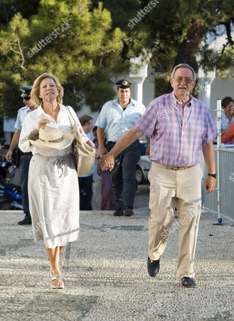 Queen Anne-Marie of Greece and King Constantine of Greece