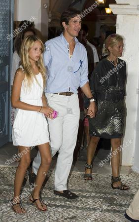 Princess Maria-Olympia of Greece, Crown Prince Pavlos and Crown Princess Marie-Chantal