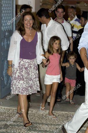 Princess Alexia with children Arrietta and Amelia