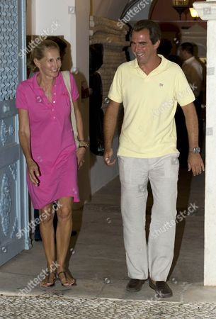 Marie-Blanche Brillembourg and Prince Nikolaos