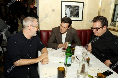 Stock Picture of Morgan Neville (Director), Mark Ronson with Guest