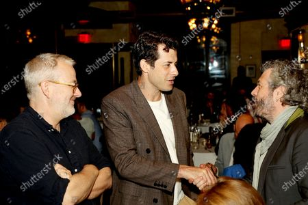 Stock Image of Morgan Neville (Director), Mark Ronson with Guest