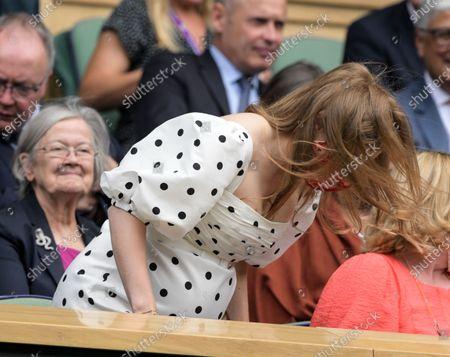 Princess Beatrice in the Royal Box