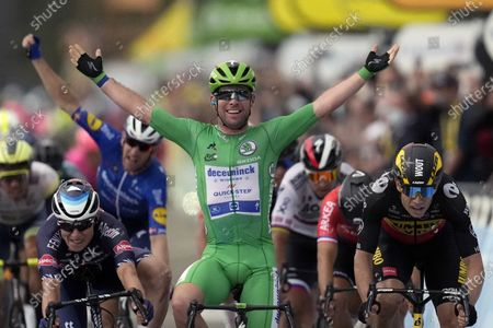 Editorial picture of Tour de Cavendish Photo Gallery, Valence, France - 06 Jul 2021