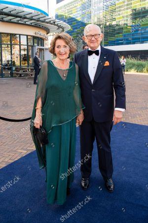 Princess Margriet with her partner Pieter Van Vollenhoven