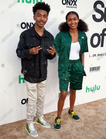 Miles Brown and Yara Shahidi