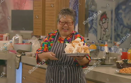 Nancy Lam cooks a meal for the housemates