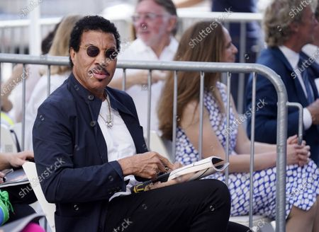 Singer Lionel Richie attends a ceremony honoring television producer Nigel Lythgoe with a star on the Hollywood Walk of Fame, in Los Angeles