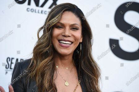 """Stock Image of Merle Dandridge arrives at the Los Angeles premiere of """"Summer of Soul"""" at The Greek Theatre on"""